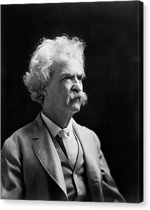 Mark Twain Canvas Print
