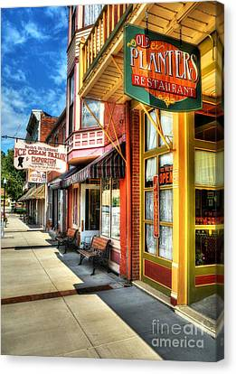 Mark Twain's Town Canvas Print by Mel Steinhauer