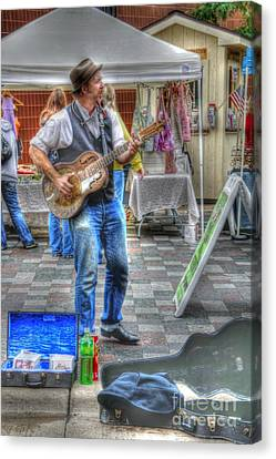 Market Image 26 Canvas Print by David Bearden