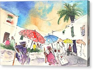 Market In Teguise In Lanzarote 01 Canvas Print