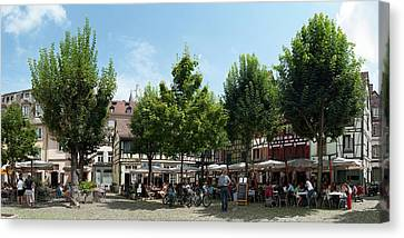 Rhin Canvas Print - Market Place, Place Du Marche Gayot by Panoramic Images