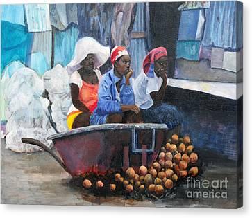 Marketplace Canvas Print