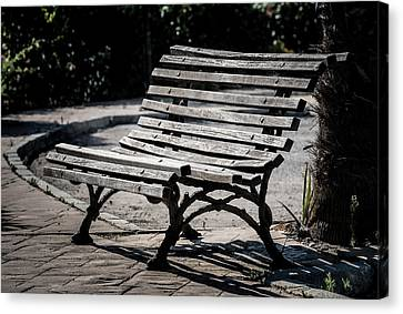 Mark's Bench Canvas Print