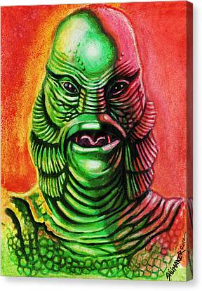 Mark's Creature From The Black Lagoon Canvas Print by David Shumate