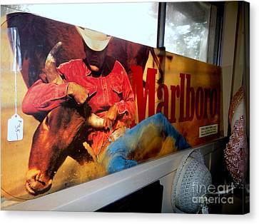 Marlboro Man Canvas Print by Ed Weidman