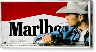Marlboro Man Canvas Print by Paul Mashburn