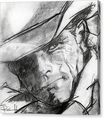 Sean Horse Canvas Print - Marlboro Man by Sean Parnell
