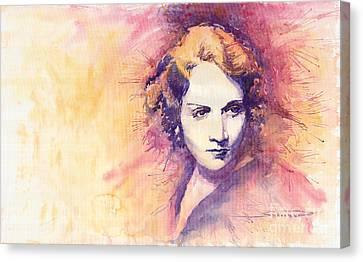 Marlen Dietrich 1 Canvas Print