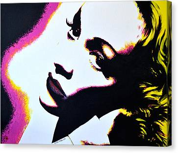 Marlene Canvas Print by Victor Minca