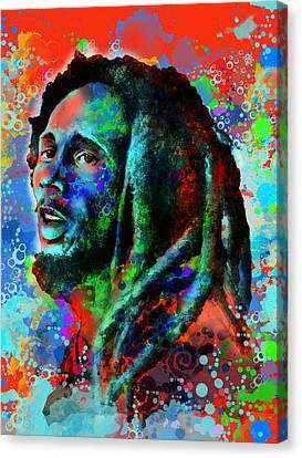 Dread Canvas Print - Marley 10 by Bekim Art