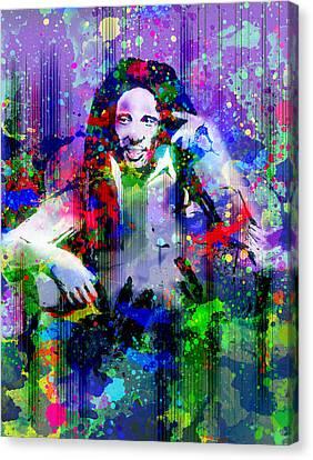 Dread Canvas Print - Marley 11 by Bekim Art