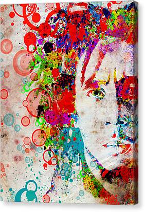 Abstract Digital Canvas Print - Marley 4 by Bekim Art