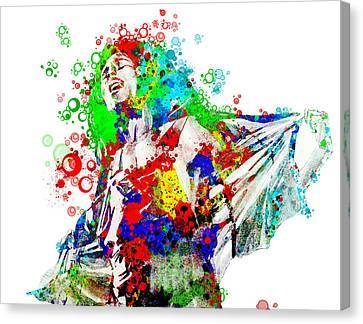 Dread Canvas Print - Marley 5 by Bekim Art