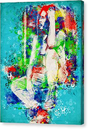 Marley 6 Canvas Print