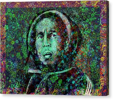 Marley Floral Version 2 Canvas Print