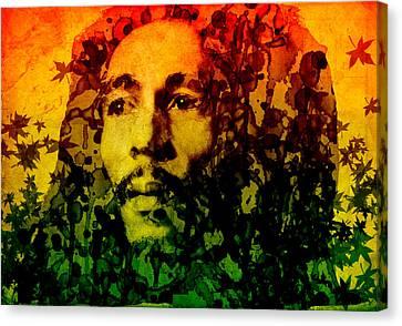 Dread Canvas Print - Marley by Bekim Art