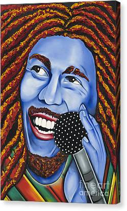 Marley Canvas Print by Nannette Harris