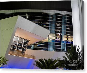 Marlins Park Stadium Miami 6 Canvas Print by Rene Triay Photography