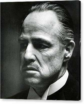 Marlon Brando Close Up Canvas Print by Retro Images Archive