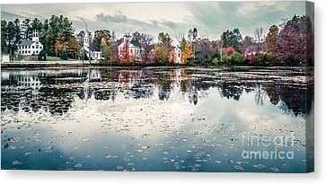 Cheshire Canvas Print - Marlow New Hampshire  by Edward Fielding