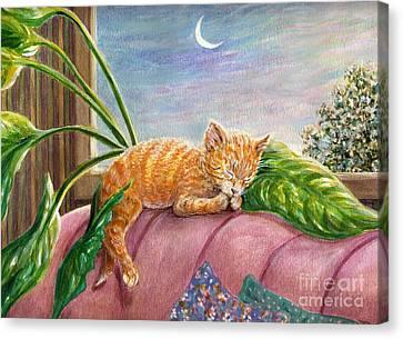 Marmalade Canvas Print by Dee Davis