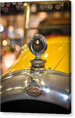 Marmon In Yellow Canvas Print by Ronda Broatch