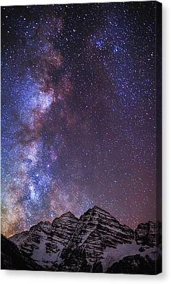 Maroon Magic Canvas Print