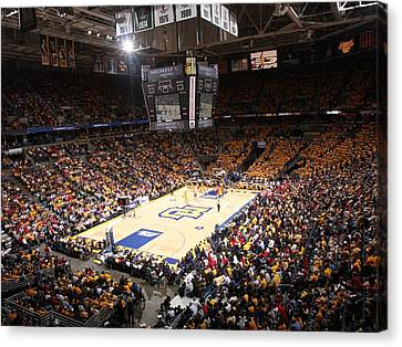 Marquette Golden Eagles Bmo Harris Bradley Center Canvas Print