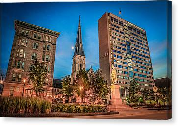 Marquette In Time Canvas Print