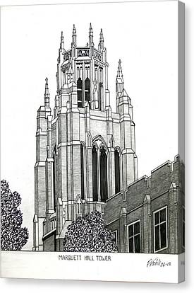 Marquette University Canvas Print