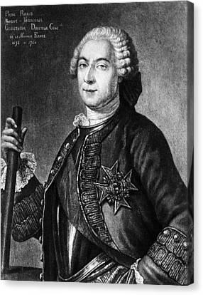 Marquis De Vaudreuil (1698-1778) Canvas Print by Granger