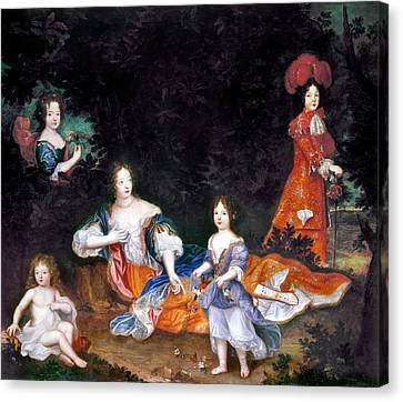 Marquise De Montespan(1641-1707) Canvas Print by Granger