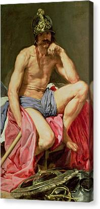 Mars Canvas Print by Diego Velazquez