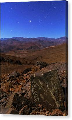 Mars In Opposition Canvas Print by Babak Tafreshi