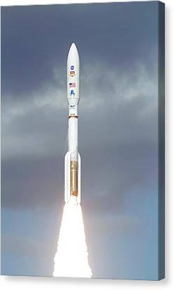 Mars Science Laboratory Spacecraft Launch Canvas Print