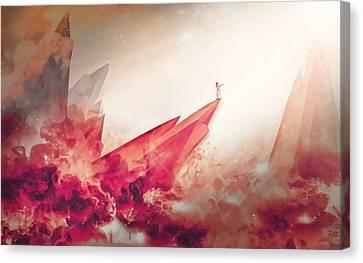 Mars Survivor Canvas Print