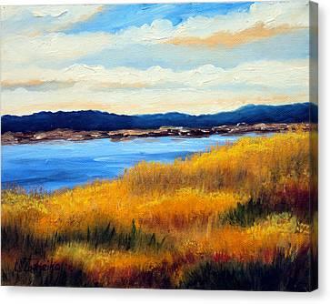 Marsh 3 Canvas Print by Laura Tasheiko