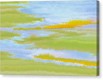 Marsh Landscape Canvas Print