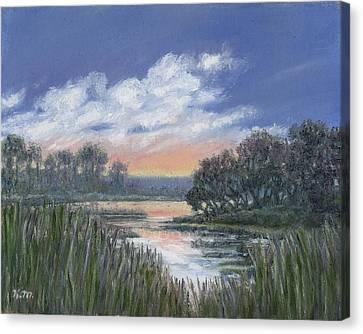 Marsh Sketch # 3 Canvas Print