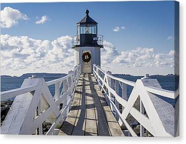Marshall Point Light Canvas Print
