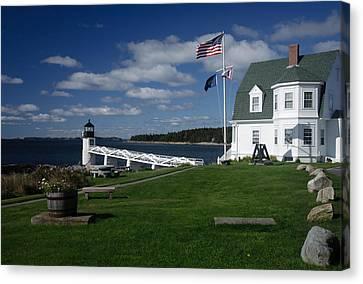 Marshall Point Lighthouse Canvas Print by David Smith