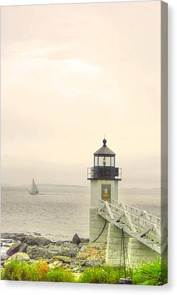 Marshall Point Lighthouse In Maine Canvas Print