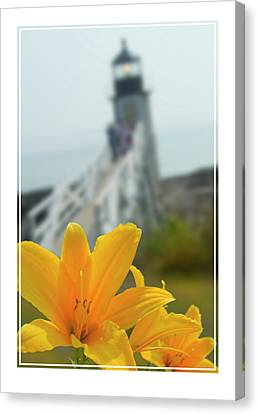 Marshall Point Lighthouse  Canvas Print by Mike McGlothlen