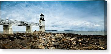 St George Canvas Print - Marshall Point Lighthouse Panoramic by David Smith