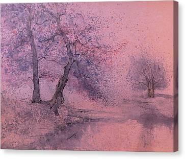 Marshell Creek IIII Canvas Print by Anna Sandhu Ray