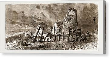 Martello Tower, Hastings, Uk, 1876 Canvas Print