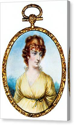 First Ladies Canvas Print - Martha Jefferson, First Lady by Science Source