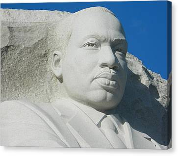 Martin Luther King Jr Memorial Canvas Print by Emmy Marie Vickers