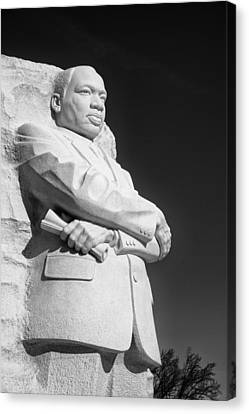 Martin Luther King Jr. Statue Canvas Print