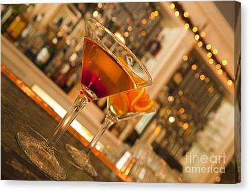 Martini 2 Canvas Print by New  Orleans Food